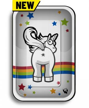 Clipper 'Unicorn #2' Metal Rolling Tray