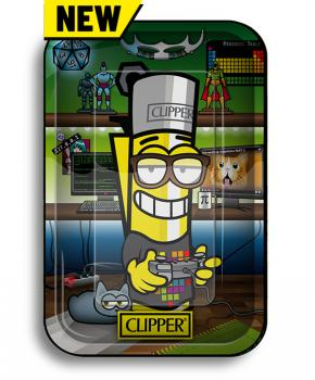 Clipper 'Geek' Metal Rolling Tray