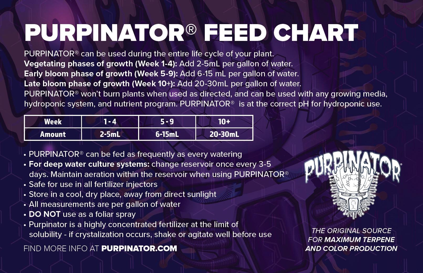 my420gadgets - Purpinator - Botanical Plant Oil