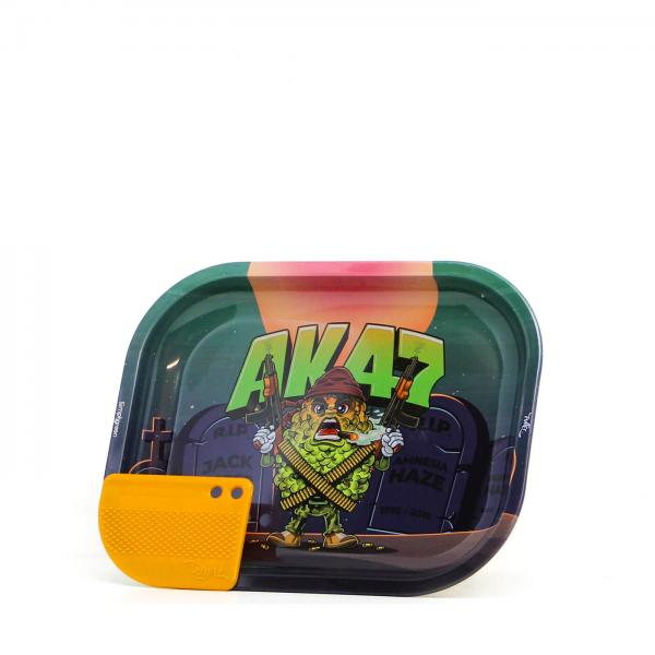 Best Buds 'Mission AK47' Metal Rolling Tray Small